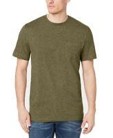 Club Room Mens T-Shirt Green Size Large L Crewneck Front Pocket Tee $22 #139