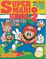 ORIGINAL Vintage 1989 Nintendo Super Mario Bros. 2 Inside Out Strategy Book
