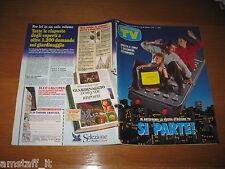 TV SORRISI E CANZONI=1992/37=LINO BANFI=I MAGNIFICI OROLOGI SWATCH=MANNOIA F.=