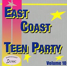 EAST COAST TEEN PARTY Volume 10 CD 1950s Rock 'n' Roll Rhythm & Blues NEW