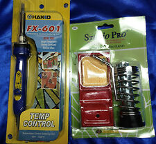 Soldering Tool Combo- Hakko Fx-601 - Temperature Control Soldering Iron + Stand