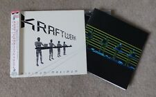 KRAFTWERK - MINIMUM MAXIMUM - JAPANESE 2CD -ENGLISH VERSION - COMPLETE WITH OBI