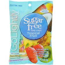 Go Lightly Sugar-Free Tropical Hard Candy, 2.75-oz. Bag (Pack of 1)