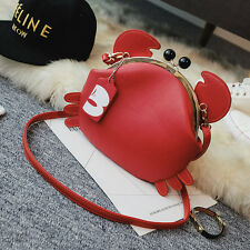 personality lovely crab shape Evening  Bridal Party Handbag shoulder bag A102