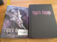 Tiger's Voyage Colleen Houck signed HBDJ book 2011 hardcover