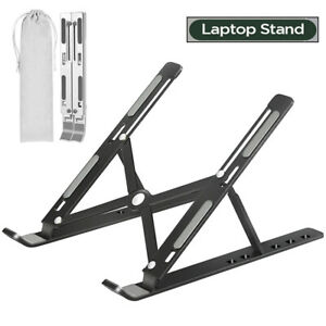 For Macbook Laptop Stand Holder Desktop Office iPad Folding Accessories Foldable