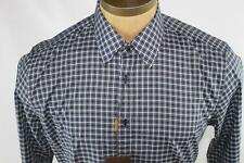 AUTH Gucci Men Plaid Long Sleeve Shirt 15.5 39