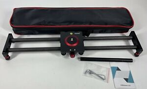 Neewer Camera Slider Dolly Rail - 19.7''/50CM with 4 Bearings - with carry case
