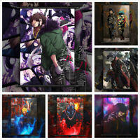 Boku no My Hero Academia Bakugou Midoriya Shinso Poster Scroll Home Decoration
