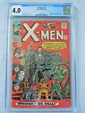 Marvel X-Men #22 CGC 4.0 1966 Count Nefaria, Eel, Unicorn, Scarecrow appearance