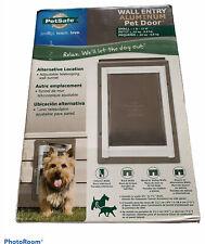 PetSafe Wall Entry Aluminum Pet Door Small PPA11-10915 up to 15lbs