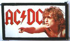AC/DC Angus Original Vintage 1980`s  Photo Card Patch not shirt lp cd concert
