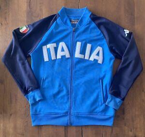 Italia KAPPA Retro Italy Original Football Training Jacket National Team Size XL