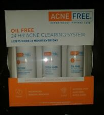 ACNE FREE OIL FREE 24 HR ACNE CLEARING SYSTEM  EXP 11/20