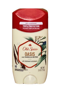 Old Spice Oasis with Vanilla Antiperspirant Deodorant 2.6 oz