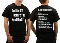 Gift For Dad  Ten Rules For Dating My Daughter shirt t shirt Gift For Father