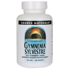 Gymnema Sylvestre, 450 mg, 120 Tablets /  Supports Healthy Blood Sugar