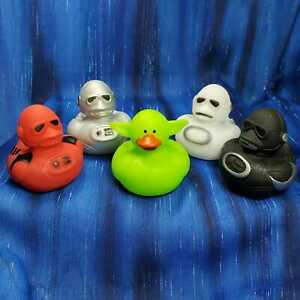 YoDuck and Troopers Rubber Ducks Star Space Wars Yoda Mandalorian fans