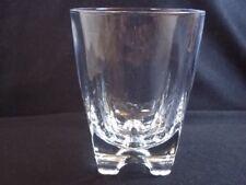 Lenox Crystal Tuscany Classics Double Old Fashioned Glass Tumbler 4 Toe 10 oz