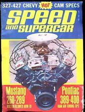 Speed And Supercar Magazine October 1967 Pontiac 389-400 VG No ML 011117jhe