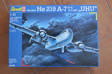 Revell Heinkel He219 A-7' Uhu' Night Fighter, 1:32 Scale, Sellada. Nueva.