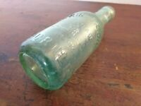 Collectable Vintage Green Glass Bottle - Atkinson Bros Burnley