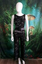 Leo's Dancewear Women's Small Black Planetery Jumpsuit (F)