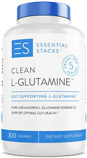 Essential Stacks Clean L-Glutamine Powder - Designed For Optimal Gut Health -