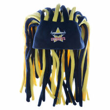 COWBOYS Dreadlocks  Novelty Fun Hat     New Nrl Official Licensed Product