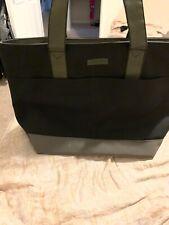 Kenneth Cole Reaction Black/olive Nylon Tote Bag Shoulder Purse Hand Bag Used.