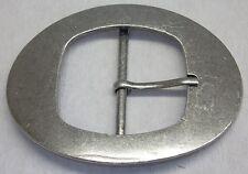 1 Schließe  Gürtelschnalle Schnalle  4,5 cm altsilber  rostfrei ! NEU ! 04.70