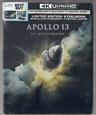 Apollo 13 (25th Anniversary Steelbook) 4K  HD +Blu-Ray BRAND NEW & SEAL