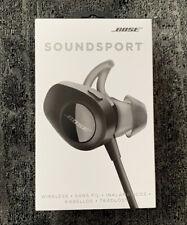 Bose SoundSport Wireless In-Ear Headphones - Black NEW