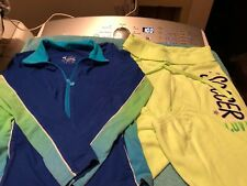 Girl Justice Sweat Suit(soccer) Size 10 Long Sleeve Shirt