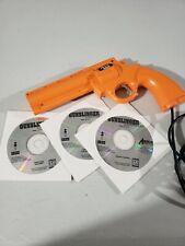 Gunslinger Collection 3 disc set PANASONIC 3DO with American Laser Games Gamegun