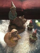 1983 Tom Clark Retired Gnome Skipper Plus 3 Other Pieces As Shown Lot Of 4