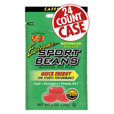 Sport Beans Extreme Energizing Jelly Beans Energy Beans Ex-watermelon Bxof24