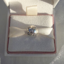 Genuine Pandora TWINKLE STAR PAVE Clip Silver Charm Authentic
