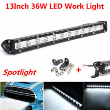 13inch 36W Cree Slim LED Work Light Bar Offroad Spot Fog Driving Lamp Spotlight