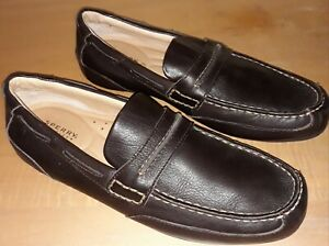 Sperry Top Sider Brown Leather Driving Loafer Mens 9 M Slip On Shoe