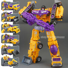 Construction Engineering Truck Car Robot Combiner Devastator Metal Action Figure