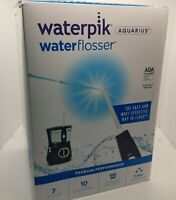 Waterpik WP-663 Water Flosser Electric Dental  Oral Irrigator, Aquarius, Blue