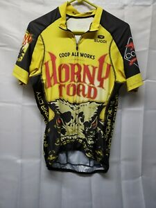 Horny Toad Sugoi mens cycling jersey Vintage size M Great Colors