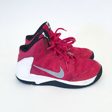 NIKE 'Without a Doubt' Child Youth Boys 759984-600 Basketball Shoes Sneakers 2Y