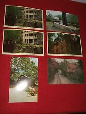 Vintage Six Post Cards West Virginia Harpers Ferry; Potomac Highland; Mill Creek