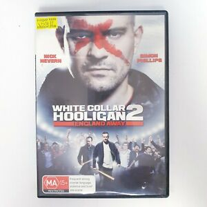 White Collar Hooligan 2 England Away Movie DVD Region 4 PAL Free Postage