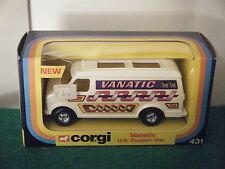 """Corgi No: 431 """"Chevrolet U.S.Custom Van VANATIC"""" - (Original 1977)"""