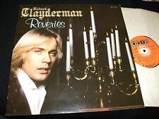 RICHARD CLAYDERMAN<>REVERIES<>Lp Vinyl~Canada  Press~ABLE ABL-17047