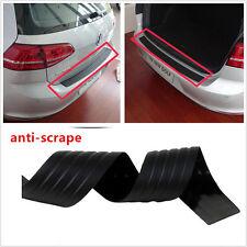 Black Door Sill Guard Car SUV Body Bumper Protector Trim Cover Protective Strip
