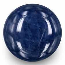 Cabochon Blue Opaque Loose Sapphires